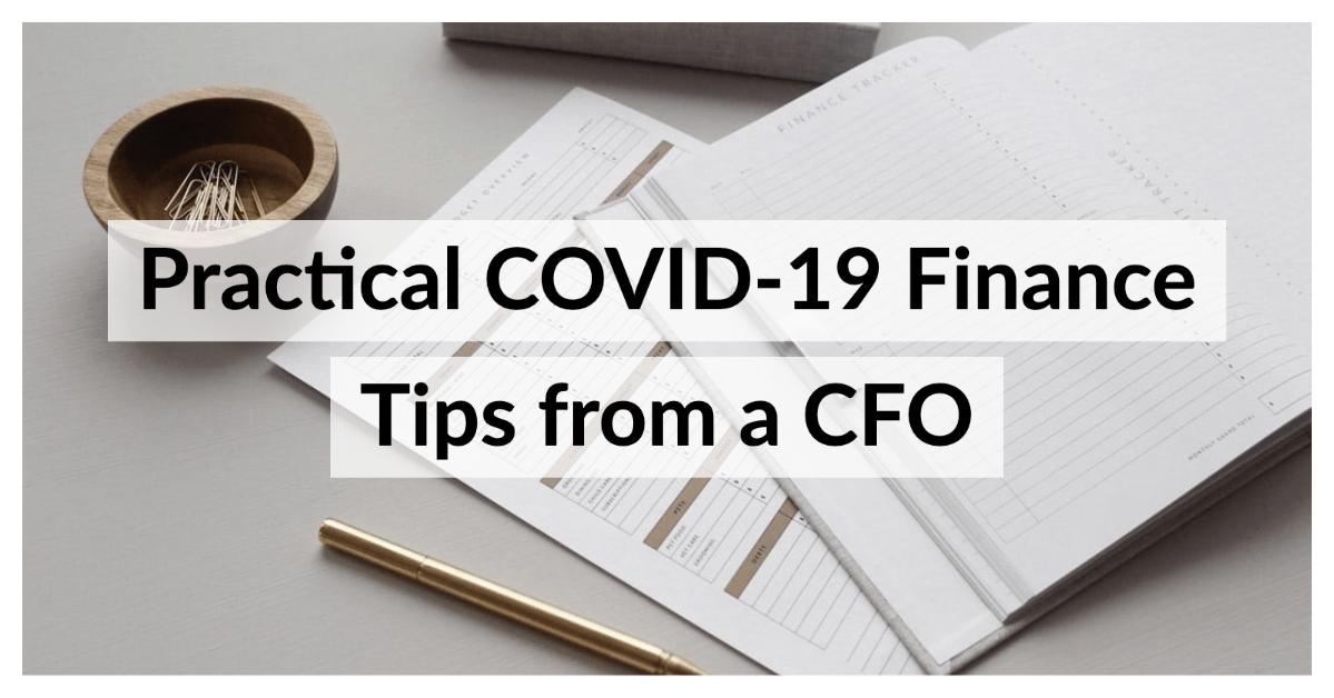 Covid 19 Finance Tips