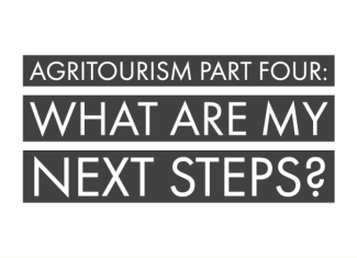 Agritourism Part Four: What are my next steps?