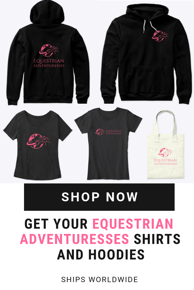 Equestrian Adventuresses Hoodie and T Shirt Shop Pinterest