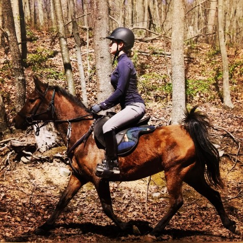 Endurance riding is teamwork and boosts your confidence.