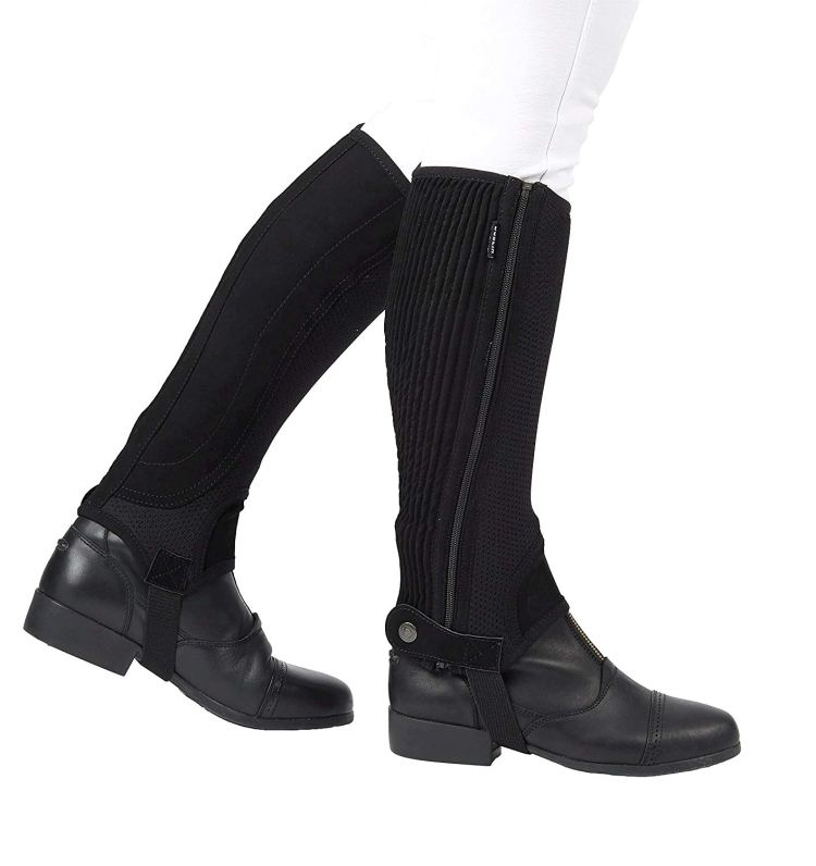 half chaps are handy long distance horse riding gear