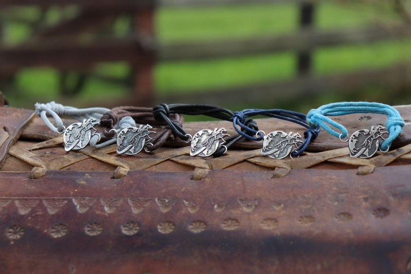 All Bracelets in the Equestrian Jewelry Collection in all 5 colors