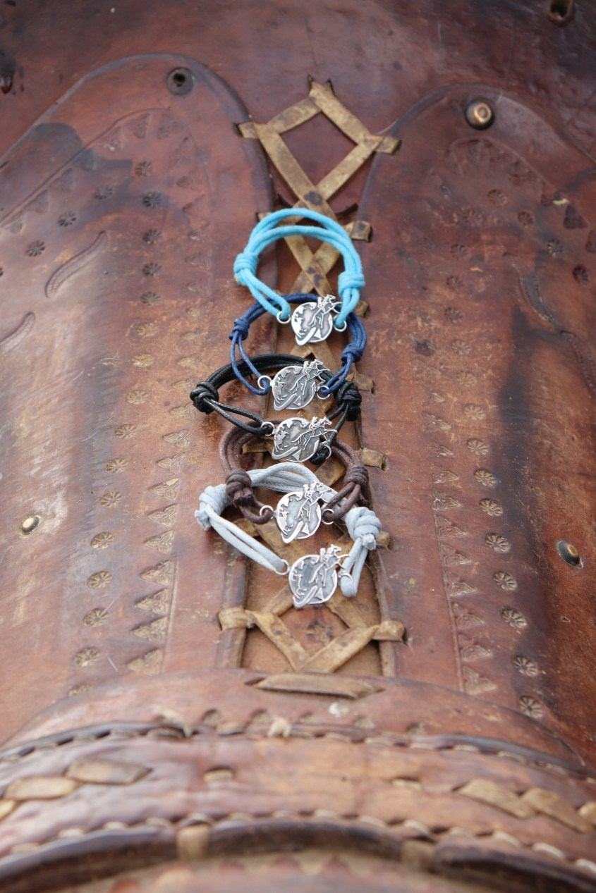 The whole collection of Equestrian Woman Bracelets