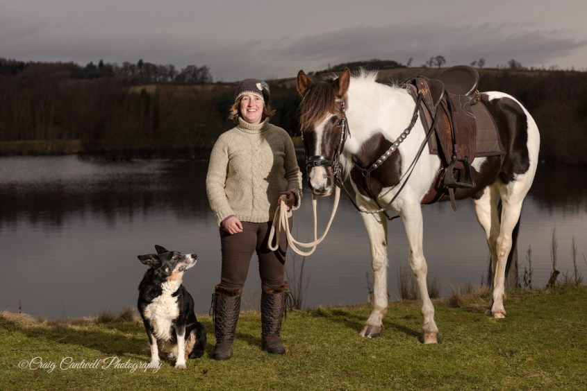 """The deaf, the daft and the ditsy"" (Pip, Karen and Connie) had a unique adventure horseback riding in Scotland. Not only did they create a special bond, but also they raised 6,500 GBP for charity"