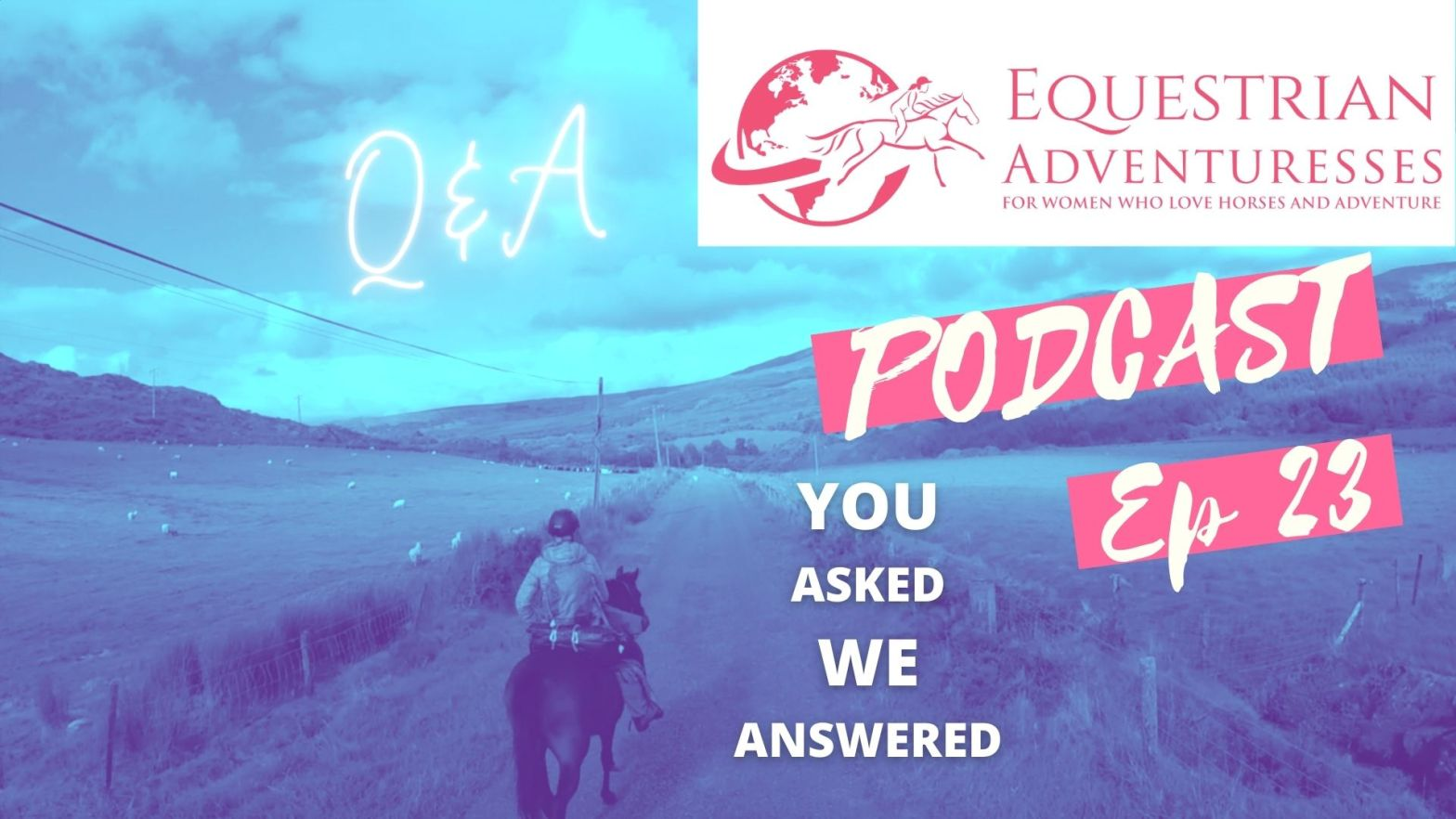 You asked them we've answered them - Ute and Heather answer your questions in our horse podcast