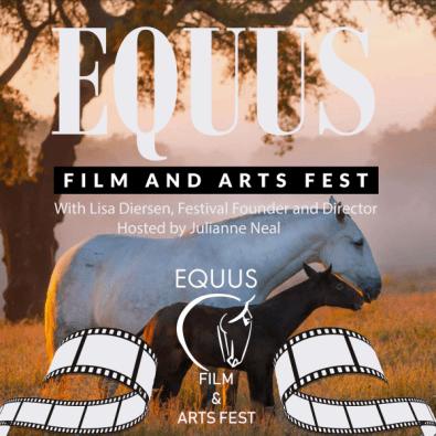 EQUUS Film and Arts Fest podcast logo