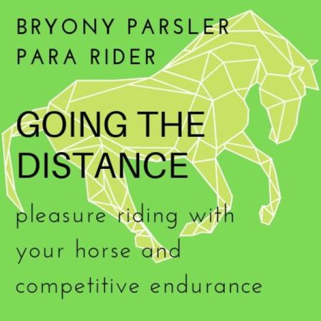 Going The Distance podcast logo for best horse podcasts