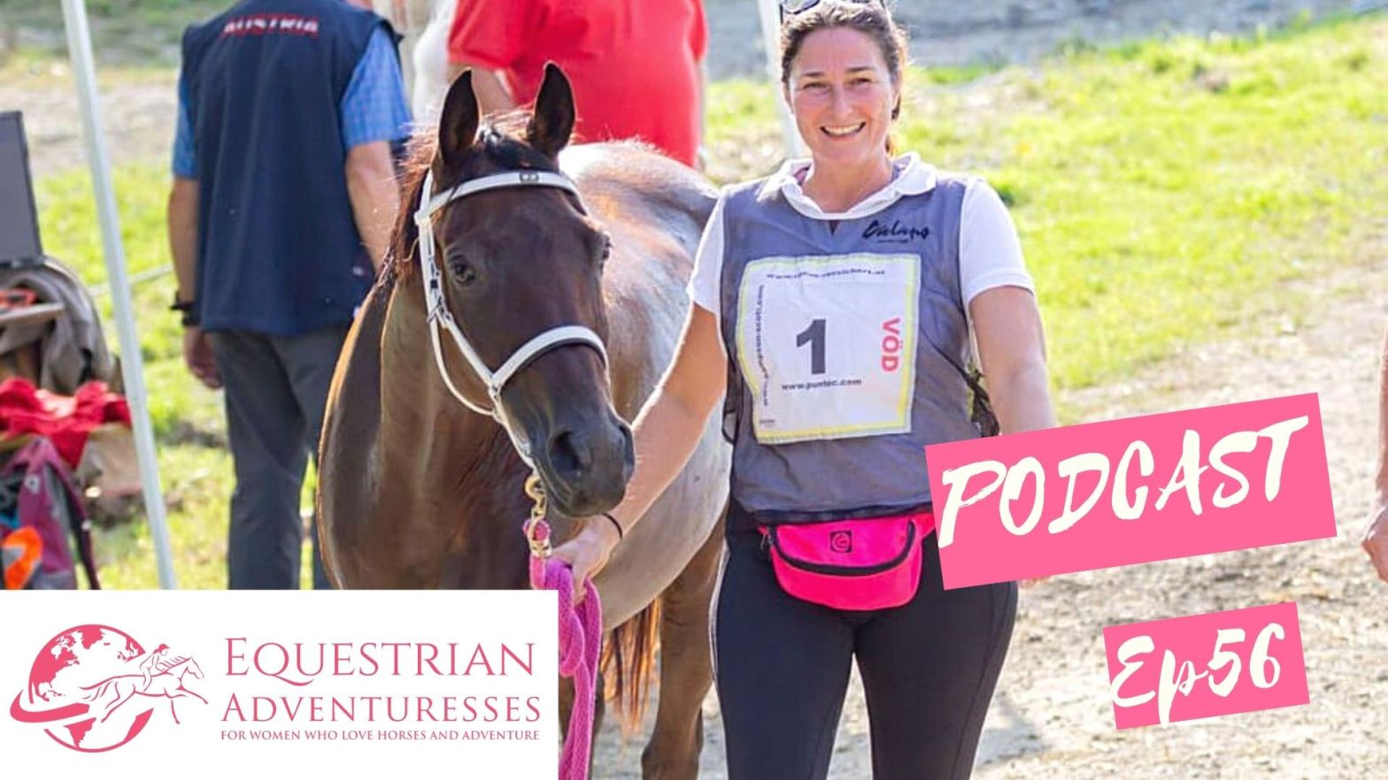Equestrian Adventuresses Travel and Horse Podcast Ep 56 - From Horse Owner to Entrepreneur