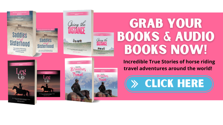 Grab your horse book for adults and audiobooks now! Incredible true stories of horse riding travel adventures around the world.