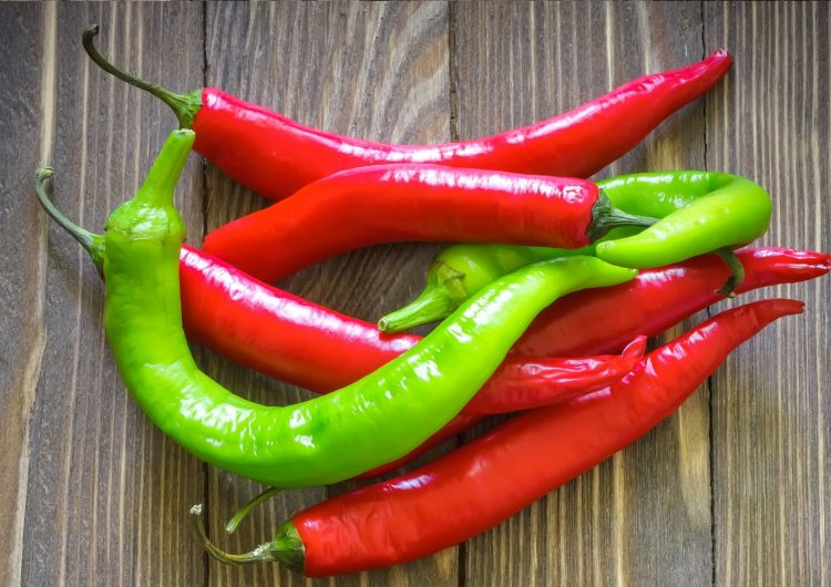 """A mix of red and green chillies is called """"Christmas"""" in New Mexico"""