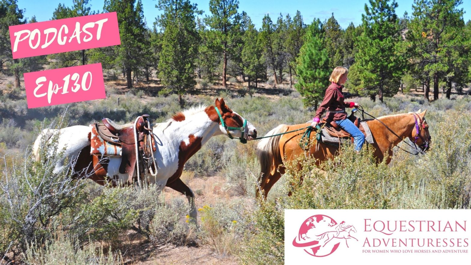 Equestrian Adventuresses Travel and Horse Podcast Ep 130 - Ponying Horses