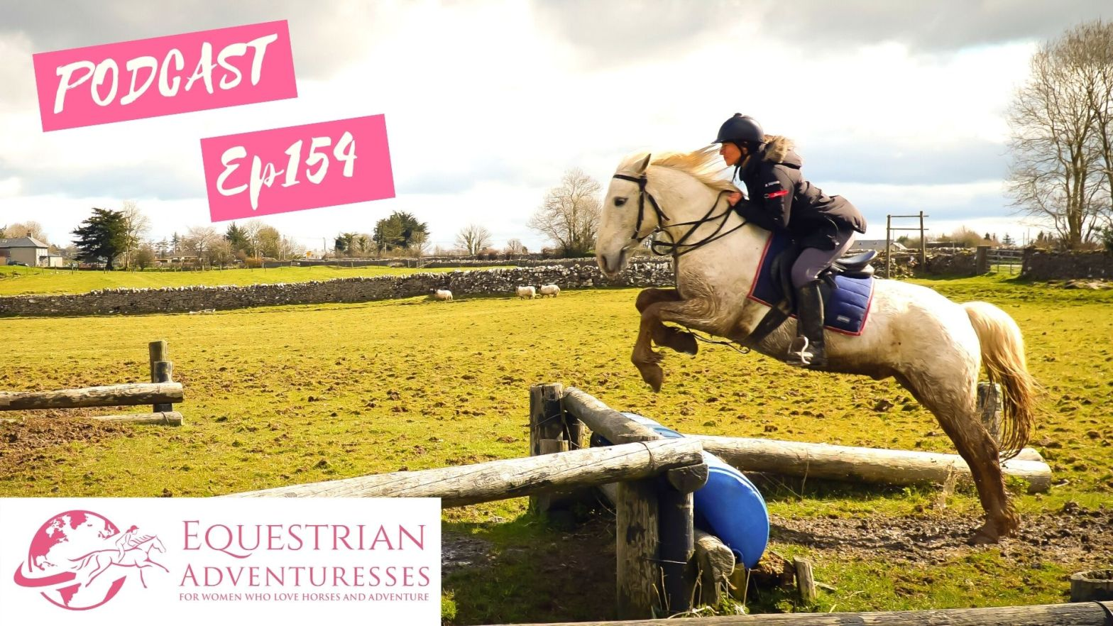 Equestrian Adventuresses Travel and Horse Podcast Ep 154 - Riding Every Breeds