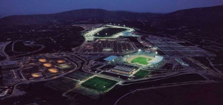 The Athens Olympic equestrian complex