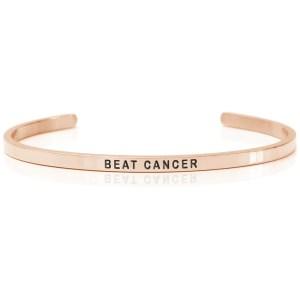 BEAT CANCER - Armband (Daniel Sword)