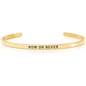 NOW OR NEVER – Armband (Daniel Sword)