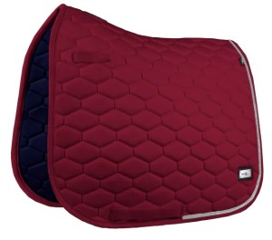 Hexagon Crystal Burgundy - Dressyr-schabrak