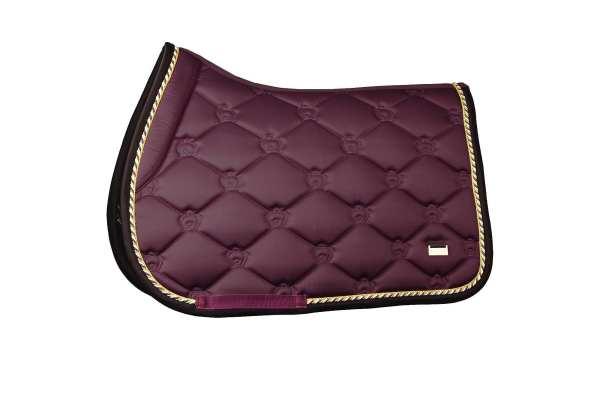 ps of sweden wine purple saddle pad