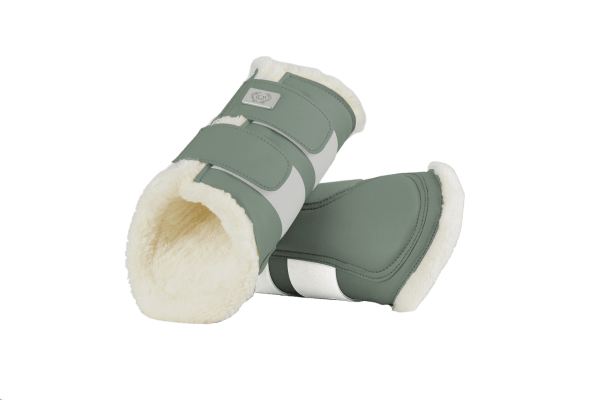 sage green brushing boots ps of sweden