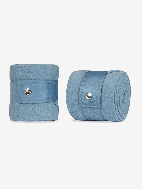 Aqua set of 4 fleece polo bandages