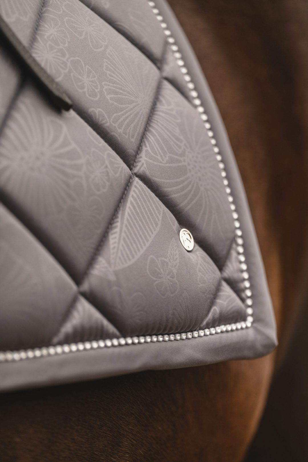 grey dressage pad