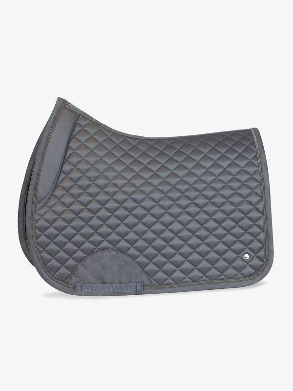 grey jump saddle pad