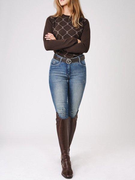 linnea brown sweater