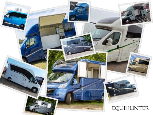Choose your colour - Equihunter Arena 3.5t Horsebox