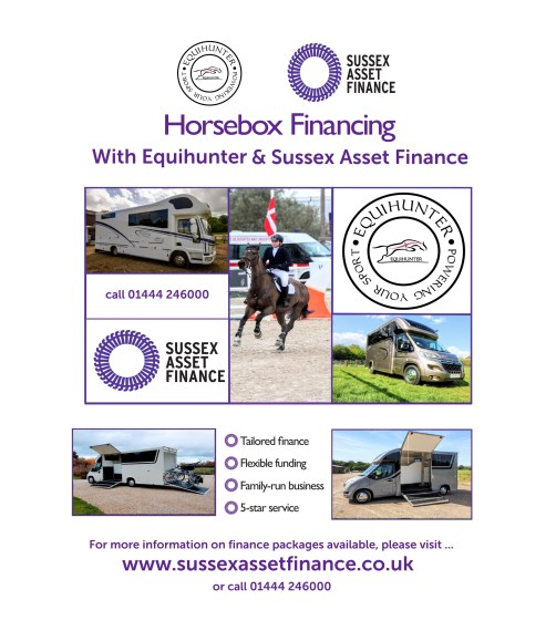 Sussex Asset Finance with Equihunter Horseboxes