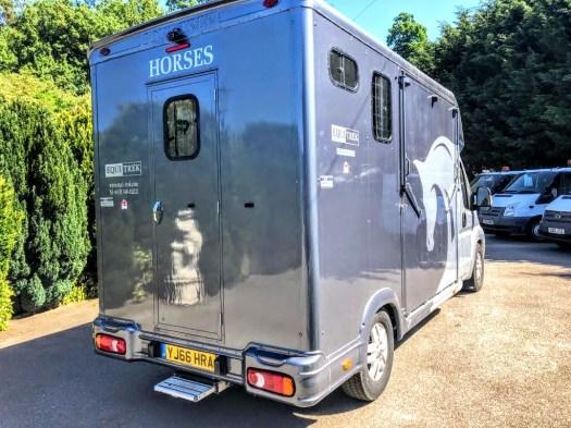 Used Equi-Trek Super Sonic 4,005 kgs Tonne Two Stall Horsebox For Sale