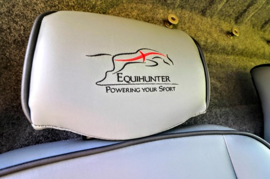 Equihunter Aurora Logo Headrests