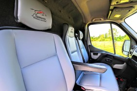 Equihunter Aurora Reupholstered Cab Seats
