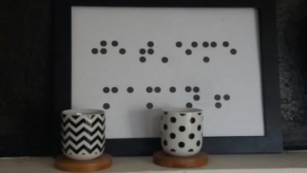 cadre braille