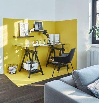 Délimiter un espace avec la peinture