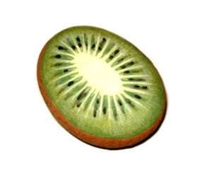 Galet-deco-peint-fruit-kiwi