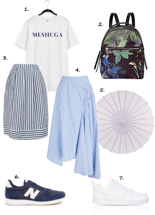 Summer weekend fashion