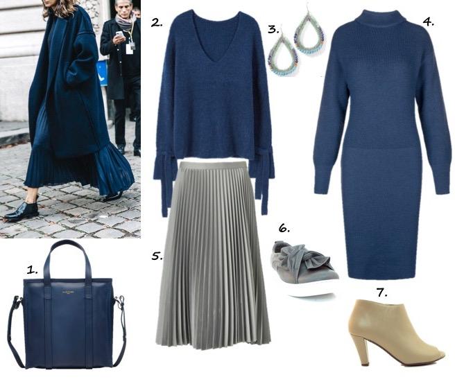 wear trend blue