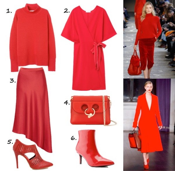 wear the trend - red