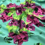 Bougainvillea Bliss 90x90cm scarf