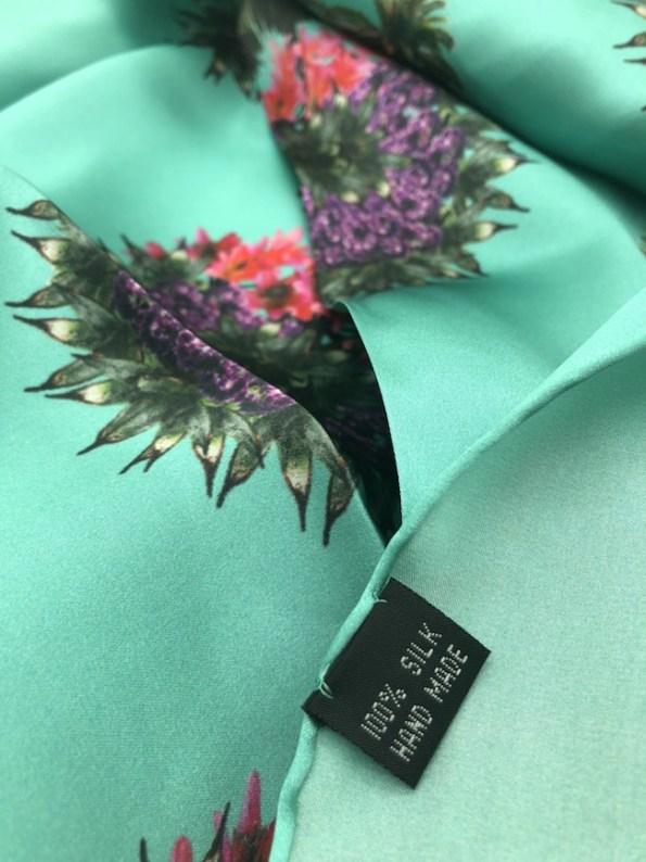 Tropic Repeat Silk Detail