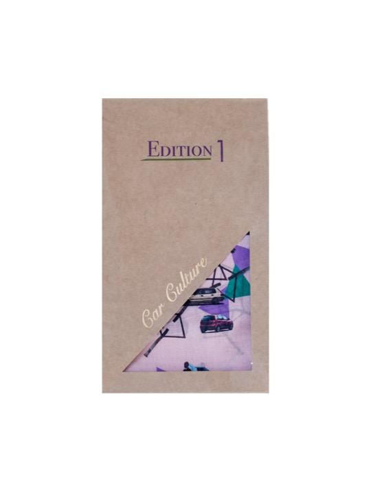 Downtown Cotton 100×100 Scarf Gift Box