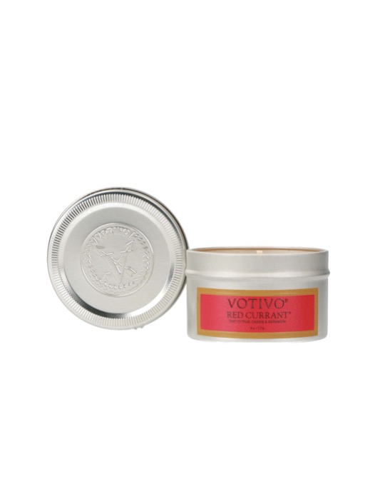 12. Votivo Aromatic Travel tin Candle