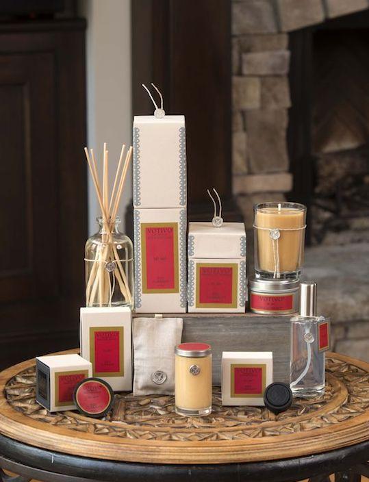 Votivo Aromatic Red Currant Product Range