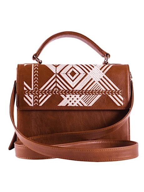 brown leather handle bag made in South Africa