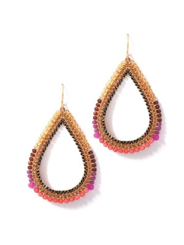 Bomber Pink Earring