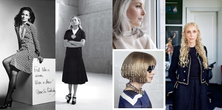 Inspirational women of fashion and beauty