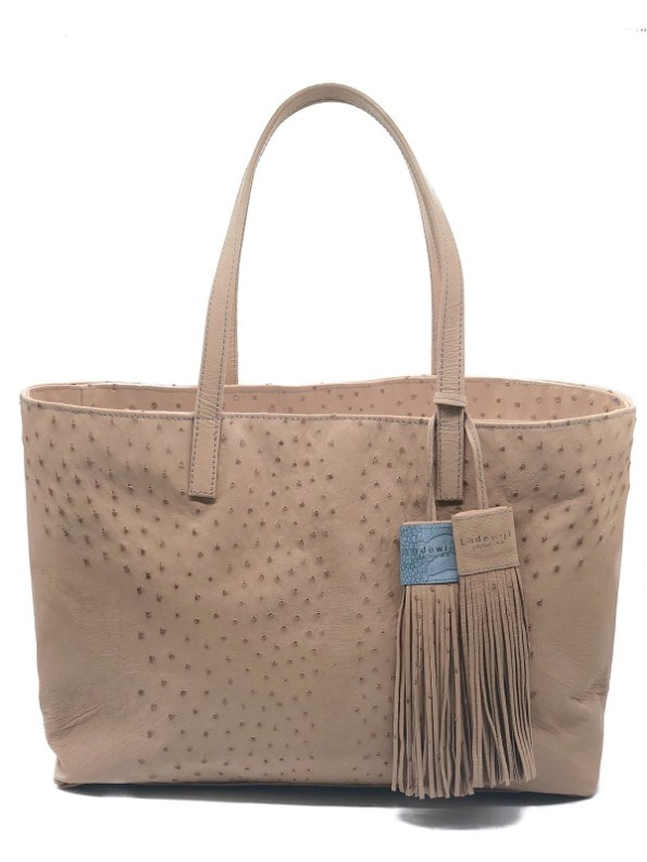 Lodewijk Wheat Tote Front