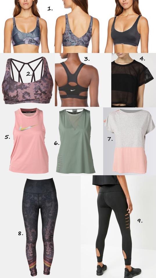 Summer workout gear