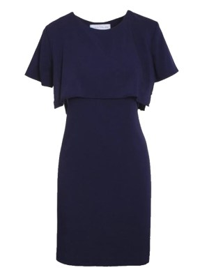 Mareth Colleen Napa Dress in Navy