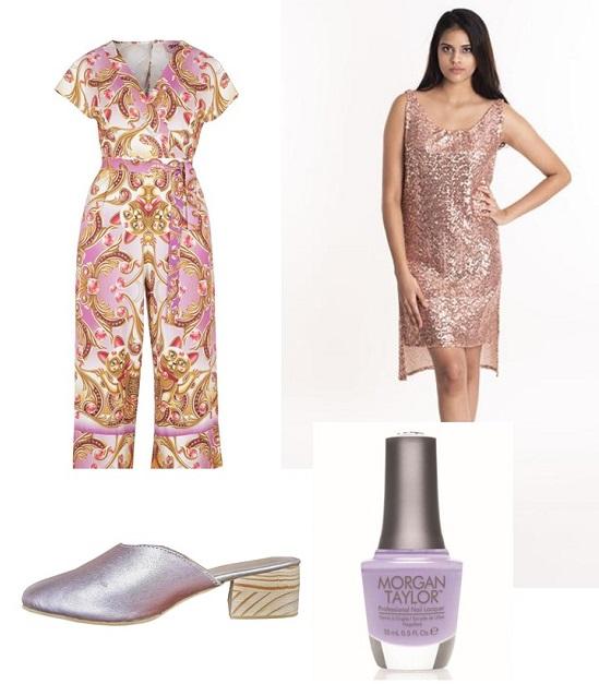 peech lilac fashion