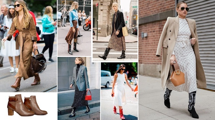western-style boots trend